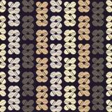 Configuration géométrique abstraite sans joint Texture de mosaïque brushwork Hachure de main Texture de griffonnage Illustration de Vecteur