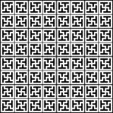Configuration géométrique chinoise Photo libre de droits