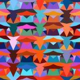 Configuration géométrique colorée Image stock