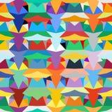 Configuration géométrique colorée Photographie stock