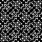 Configuration géométrique complexe illustration de vecteur