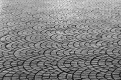Configuration géométrique de trottoir photos libres de droits
