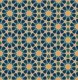 Configuration géométrique islamique illustration libre de droits