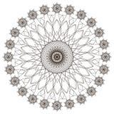 Configuration géométrique Page pour livre de coloriage Photos stock