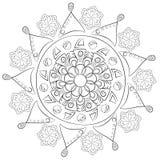Configuration géométrique Page pour livre de coloriage Image stock