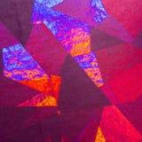 Configuration géométrique rouge Image libre de droits