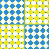 Configuration géométrique sans joint abstraite illustration de vecteur