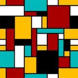 Configuration géométrique sans joint abstraite images stock
