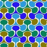 Configuration géométrique sans joint abstraite Photos stock