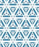 Configuration géométrique sans joint abstraite Formes simples Photographie stock