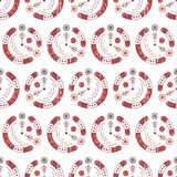 Configuration géométrique sans joint abstraite Formes simples Images stock