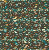 Configuration géométrique sans joint abstraite Illusion optique de mouvement illustration libre de droits