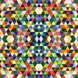 Configuration géométrique sans joint colorée illustration de vecteur