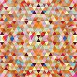 Configuration géométrique sans joint colorée illustration libre de droits