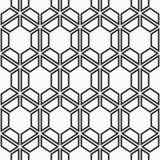 Configuration géométrique sans joint des hexagones Illustration Libre de Droits