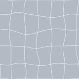 Configuration géométrique sans joint Lignes pointillées de main onduleuse de filet Vecteur répétant la texture avec l'effet de co Photos stock