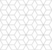 Configuration géométrique sans joint structure 3d Image stock