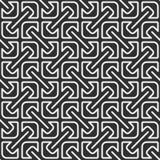 Configuration géométrique monochrome Photo libre de droits