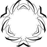 Configuration gothique de courbes Illustration de Vecteur