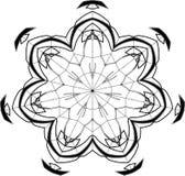 Configuration gothique de courbes Illustration Libre de Droits