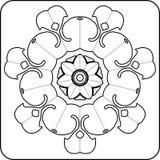 Configuration gothique de type des courbes Illustration de Vecteur