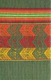 Configuration indienne de textile de l'Amérique du Sud photo libre de droits