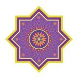 Configuration islamique Photo stock