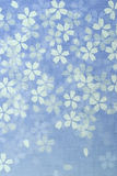 Configuration japonaise de fleur Photos libres de droits