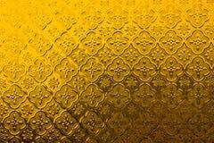 Configuration jaune Image stock