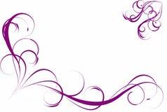 Configuration lilas Photo libre de droits