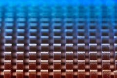 Configuration métallique abstraite photographie stock libre de droits