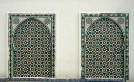 Configuration marocaine Photographie stock libre de droits