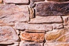 Configuration moderne du mur en pierre Photo libre de droits