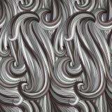 Configuration monochrome abstraite sans joint Images stock
