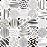 Configuration monochrome abstraite sans joint E Image stock