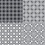 Configuration noire illustration stock