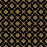 configuration noire d'or Image libre de droits