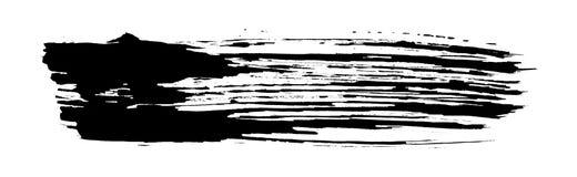 Configuration noire de rappe de balai illustration libre de droits