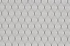 Configuration noire de tissu de lacet Images libres de droits
