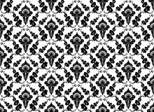 Configuration noire et blanche illustration de vecteur
