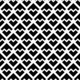 Configuration noire et blanche abstraite Photo libre de droits