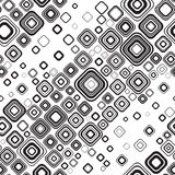 Configuration noire et blanche sans joint Images libres de droits