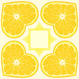 Configuration orange Illustration Libre de Droits