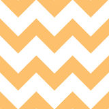 Configuration orange de Chevron de crème Images stock