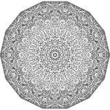 Configuration ornementale de lacet illustration de vecteur