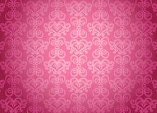 Configuration ornementale rose de luxe illustration stock