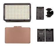 configuration plate de kit léger visuel du Sur-appareil-photo LED Photos libres de droits
