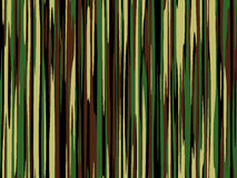 Configuration rayée de camouflage Images libres de droits