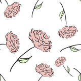 Configuration rose sans joint illustration stock