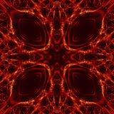 Configuration rouge Photographie stock